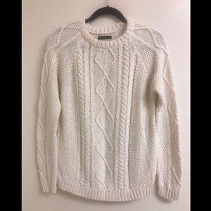 White Zara sweater